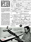 Stunt Plans: PT-19 Trainer by Dave Hemstrought and a Midwest Kit (1960)