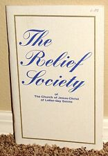 THE RELIEF SOCIETY OF THE LDS MORMON CHURCH by Kate B. Carter 1996 ELIZA SNOW PB