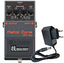 Boss MT-2w Metal Zone Waza Edition Distortion Pedal + Netzteil