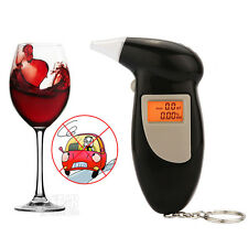 Breath Alcohol Detector Analyzer Tester Breathalyzer Test Police Digital LCD