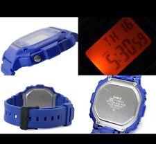 New Casio Mens Watch Illuminator Blue Digital Watch Alarm Chrono Light(p77)
