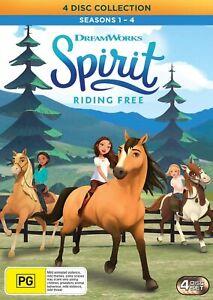 Spirit - Riding Free: Season 1-4 (DVD), NEW SEALED AUSTRALIAN RELEASE lot 280