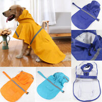 Pet Dog Raincoat Waterproof Cloak All-Inclusive Pet Hooded Raincoat Outdoor