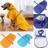 Pet Dog Raincoat Waterproof Cloak All-Inclusive Pet Hooded Raincoat Outdoor SES