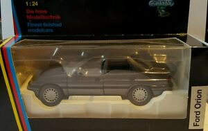 Ford Orion 1:24  Schabak NEU grau grey anthrazit graumet.Baujahr 1986 bis 1990