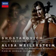 Alisa Weilerstein Symph Des Bayerischen Rundfunks Heras-Casado - Shosta (NEW CD)