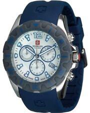 Swiss Military Calibre Marine blau 06-4M2 Quarzuhr Chronograph Militäruhr