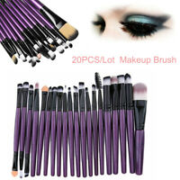 20PCS/Set Makeup Brushes Kit Powder Foundation Eyeshadow Eyeliner Lip Brush Tool