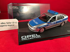 (Rare) Opel Collection Issue No.91 - Vectra B Polizei Model Car 1/43 - Vauxhall
