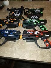 Infrared Laser Tag Guns and Vests - Laser Battle Mega Pack of 4 - Infrared 0.9mW