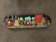 Cliché Last Supper Skateboard Deck New Blind, 101, World Industries 8.0 x 31.7