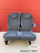 Seat rear bench double Peugeot Expert Fiat Scudo Jumpy Dispatch