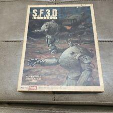 Vintage S.F.3.D Original SF3D Game Hobby Japan 1984 Only 0827/2040 UNPUNCHED