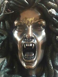 Greek Mythology Medusa Gorgon Wall Hanging  Figurine