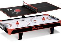 Air Hockey Table Top with Tennis Table Indoor Sport 44 Inch NEW IN BOX