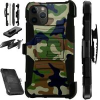 For Apple iPhone 11/X/8/7/6 PRO MAX PLUS Phone Case CAMO GREEN BROWN LuxGuard