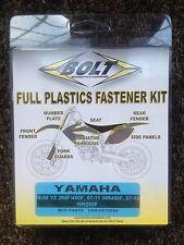 YAMAHA  WRF450  WRF 450   WR450 F  2007 - 2011  PLASTICS FASTENER NUT BOLT KIT