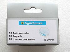 10 X 29.00mm pièce de monnaie capsules pour deux Livre Double Souverain 50P