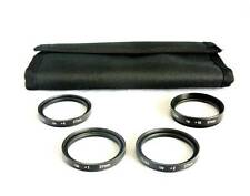 37mm Filter Thread Macro Close Up Filter Set +1 +2 +4 +10 with Case Filter-M37