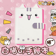 Neko Atsume Cute Cat Backyard A6 Filofax Organizer Calendar Diary Agenda Book