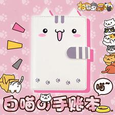 Neko Atsume Cute Cat Backyard A6 Filofax Organizer Calendar Diary Agenda Book