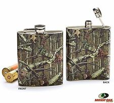 Mossy Oak Liquor HIP Flask CAMO for Hunting Redneck or Country Party Men & Women
