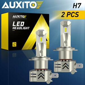 AUXITO H7 Bright White 52W LED High/Low Beam Headlight Bulbs Conversion 10S Kit
