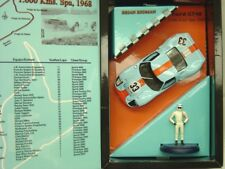 FLY W07 FORD GT40 NEW 1/32 SLOT CAR & DIE-CAST FIGURE NEW 1/32 SLOT CAR IN BOX