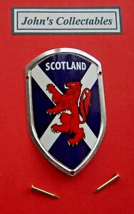 COLLECTABLE SCOTLAND WALKING / HIKING STICK BADGE  / MOUNT  LOTM NEW IN PACKET