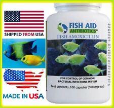 Fish aid forte 500 mg 100 capsules aquarium betta koi