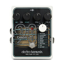 EHX Electro Harmonix BASS9 Bass Machine Guitar Effects Pedal