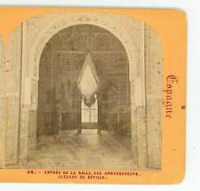 Wsa8050 View #48 Entrée de la Salle des Ambassadeurs Alcazar de Seville Spain D
