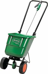 EverGreen Rotary Spreader Garden Lawn Seed Outdoor Fertiliser Spreader