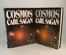 Cosmos-Carl Sagan-2 Books-One Signed Bce!-One True First/1st Edition!-Very Rare!
