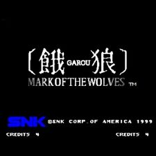 Garou Mark of the Wolves Cartridge SNK 1999 NEOGEO JAMMA Fight Free Shipping