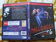 Dvd Halloween 6 Horror raro fuori catalogo Michael Myers 1995 Cecchi gori film