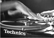 TECHNICS SL 1210 SCRATCH DJ DECKS TURNTABLES A3 ART PRINT POSTER GZ5494