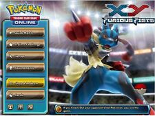 x8 Furious Fists Pokemon TCG OnLine Codes + 1 Samurott Code *READ*