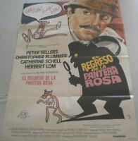 Filmplakat,EL REGRESO DE LA PANTERA ROSA,PINK PANTHER,PETER SELLERS,#27