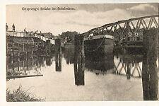24885 AK gesprengte Brücke bei Schelecken Scholochowo Labiau Königsberg 1918