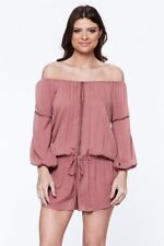 YFB  Young Fabulous & Broke Emmie Romper Rustic Rose Size S NWT