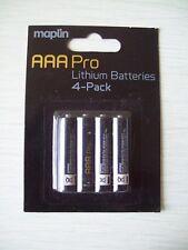 AAA PRO   Lithium AAA Batteries  4 PACK