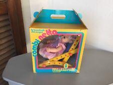 80s#VINTAGE MIGLIORATI BAMBOLA DOLL COMBINETTA COMBI NETTA#NIB FULL