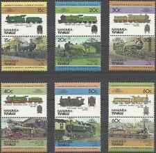 Timbres Trains Nanumea Tuvalu 1/12 ** lot 13452