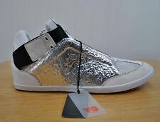 eaca55eaf Adidas Y-3 Yohji Yamamoto Kazuhiri Silver Foil Sneakers sz 12 (marked 14)