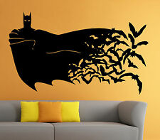 Batman Wall Vinyl Decal The Dark Knight Comics Superhero Atr Home Decor (13b2j)