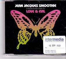 (FM666) Jean Jacques Smoothie, Love & Evil - 2002 DJ CD