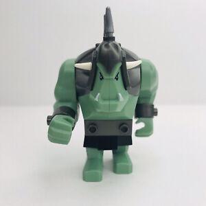 LEGO Troll Minifigure Fantasy Era Castle Kingdoms Sand Green cas376 7048