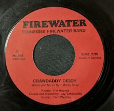 COUNTRY/CAJUN FIDDLE 45: TENNESSEE FIREWATER BAND Crawdaddy Diddy/Orange Blossom
