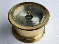 Seth Thomas Vintage Marine Brass Barometer  - Made In Germany